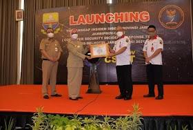 Tingkatkan Sistem Keamanan Informasi, Pj.Gubernur Jambi Launching Tim Tanggap Insiden Siber Provinsi Jambi