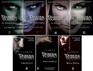 Resultado de imagem para diarios de vampiro livros