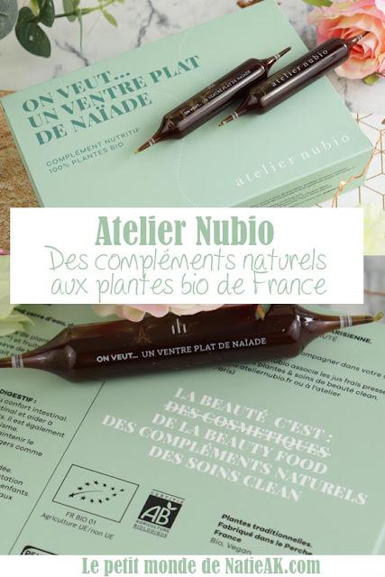 avis Atelier Nubio complément alimentaire 100% plantes