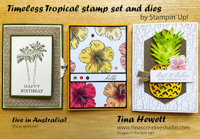 Timeless Tropical class cards www.tinascreativestudio.com
