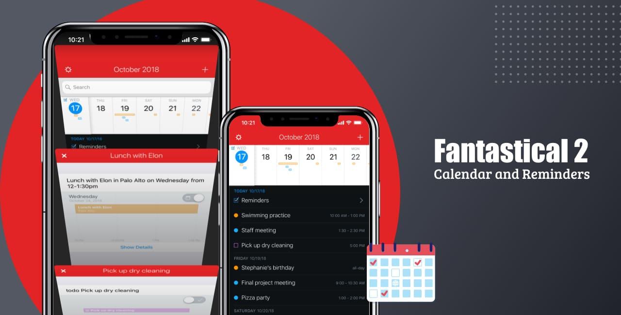 Fantastical 2 (iOS and macOS)