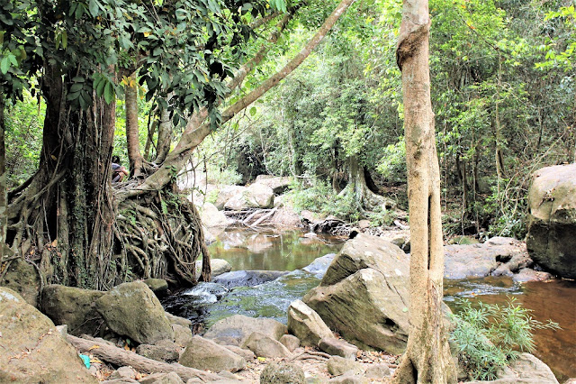 River on Phnom Kulen mountain, Cambodia - travel blog