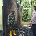 Ditinggal Shalat Idul Fitri, Rumah Warga Kaligondang Terbakar