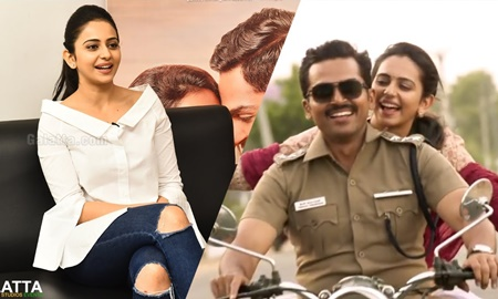 I hit Karthi very hard – Rakul Preet's confession