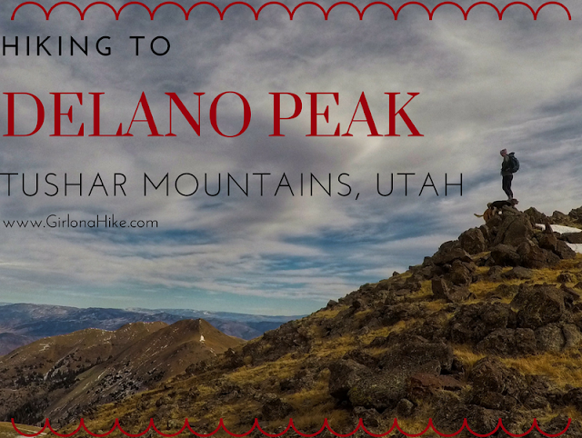 Hiking to Delano Peak, Tushar Mountains