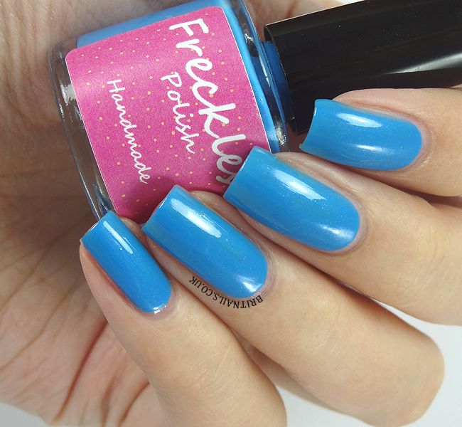 Freckles Polish Blue Soup