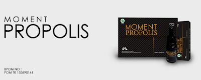 Manfaat dan kandungan moment propolis
