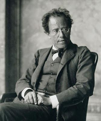 Gustav Mahler photographed in 1907 by Moritz Nähr the year before he began Das Lied von der Erde