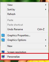 personalize par click kare