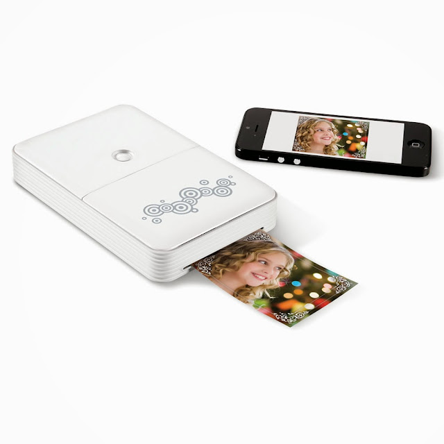 Must Have Compact Travel Gadgets - Portable Smartphone Photo Printer