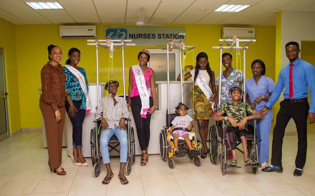 Photos : Miss Ghana Foundation Supports Cost Of Surgery Of A 13 Year Old Girl Suffering From Scoliosis