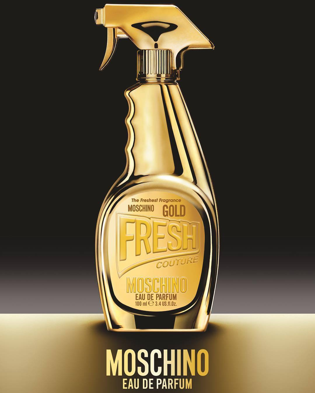 Moschino | 'Gold Fresh' Fragrance 2017 Ad Campaign