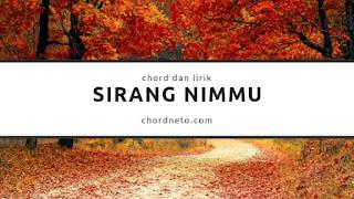 Chord Sirang Nimmu
