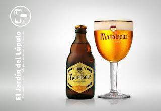 Cerveza de abadía Maredsous Blond 6