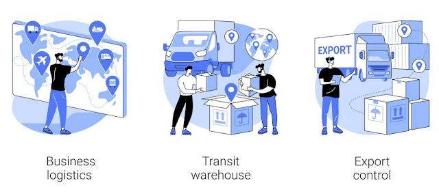 business logistics importance warehouse inventory shipment
