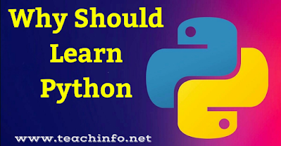 why should to learn Python