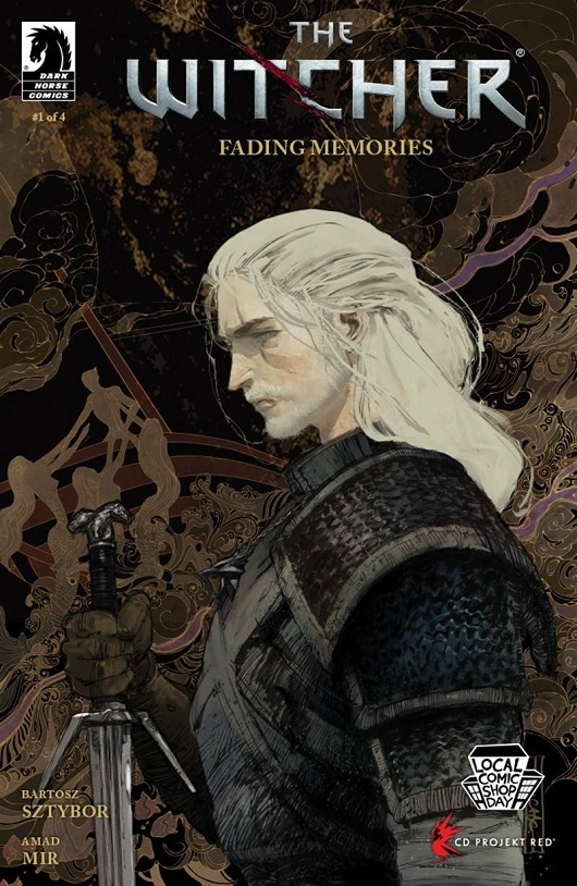 Cover of Witcher Fading Memories #1