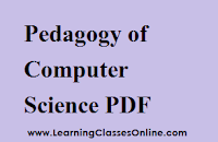 Pedagogy of Computer Science notes, Pedagogy of Computer Science book, Pedagogy of Computer Science pdf, Pedagogy of Computer Science material, Pedagogy of Computer Science engilsh, Pedagogy of Computer Science ebook, Pedagogy of Computer Science b.ed,