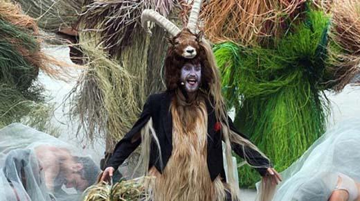La ceremonia de apertura del túnel más grande del mundo fue un bizarro ritual ocultista