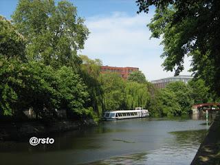 La Sprea, fiume di Berlino