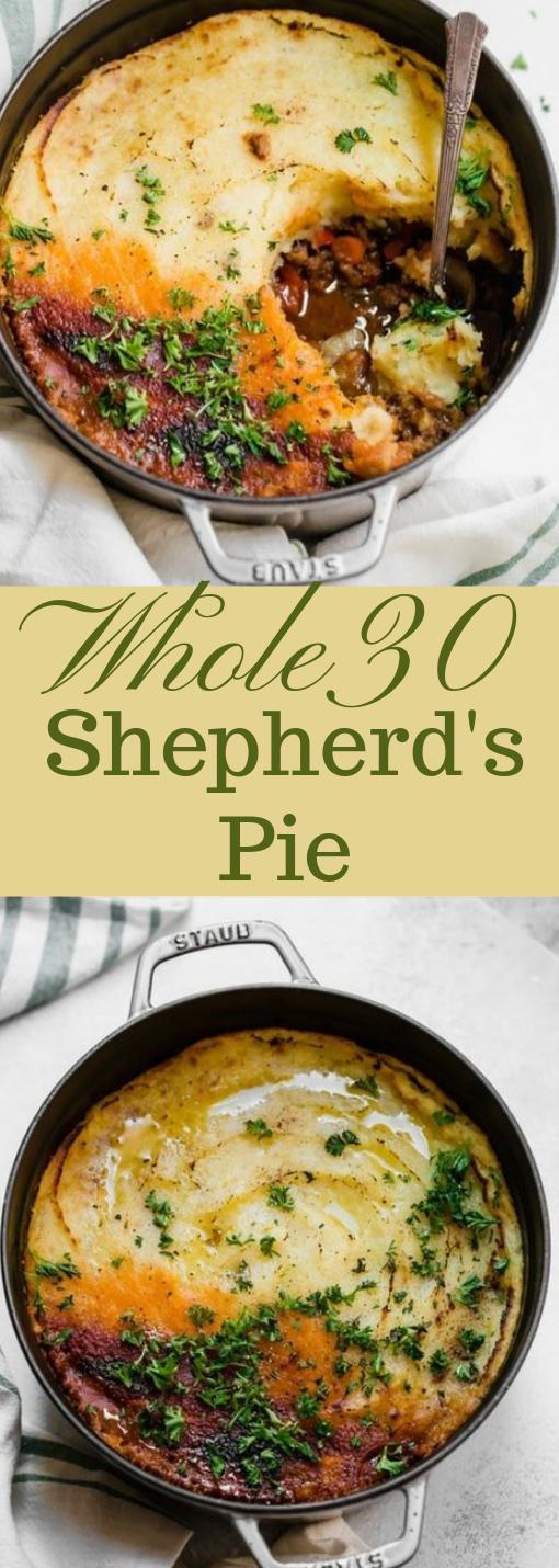 WHOLE30 PALEO SHEPHERD'S PIE #paleo #diet