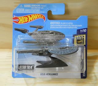 Hotwheels U.S.S. Vengeance Star Trek
