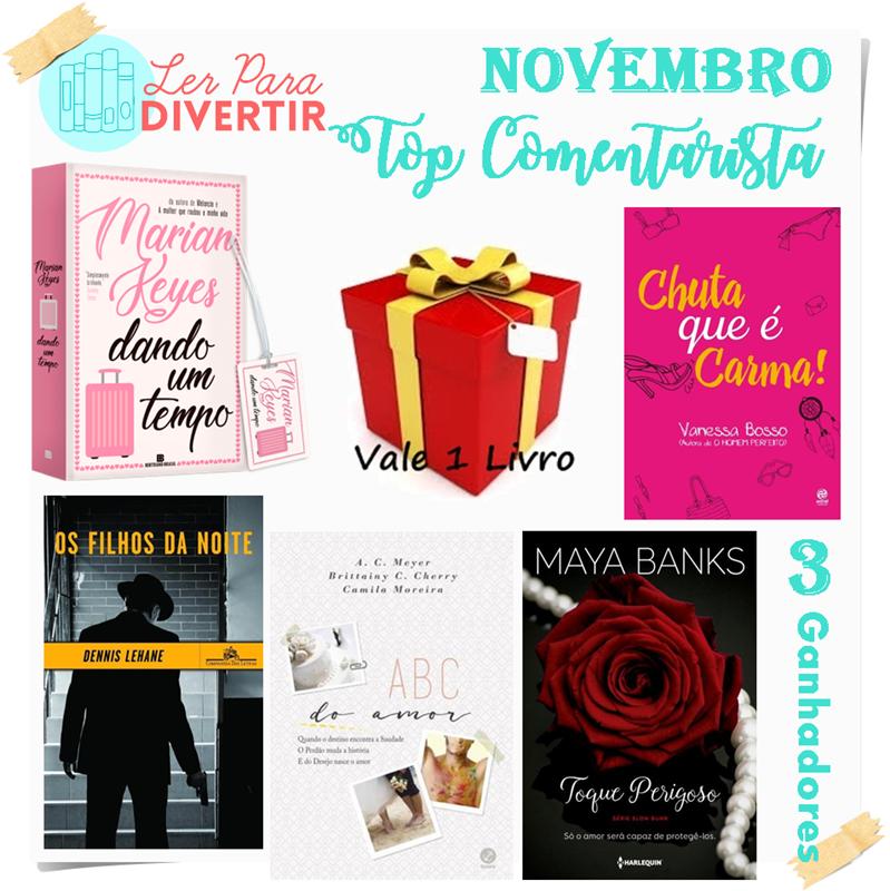Top Comentarista: Novembro 2018
