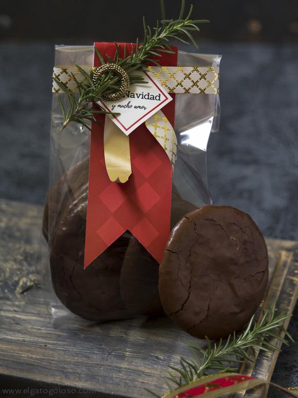El gato goloso: galletas de chocolate fáciles sin azucar blanca, sin grasa y gluten free
