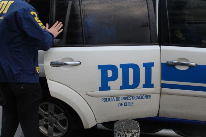 PDI detiene a sujeto con amplio prontuario involucrado en robo de vivienda y restaurante en Puerto Montt