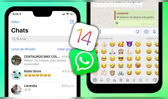 Nuevo WhatsApp Estilo iPhone iOS 14 Para Android