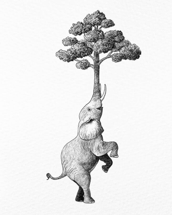 05-The-tree-elephant-The-Inkmortal-www-designstack-co