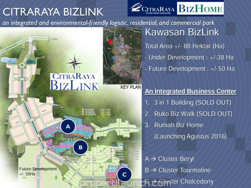 Master Plan Citra Raya BizLink Tangerang