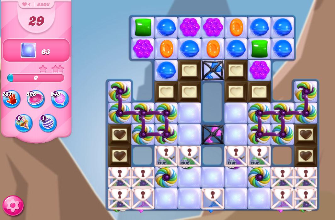 Candy Crush Saga level 8203