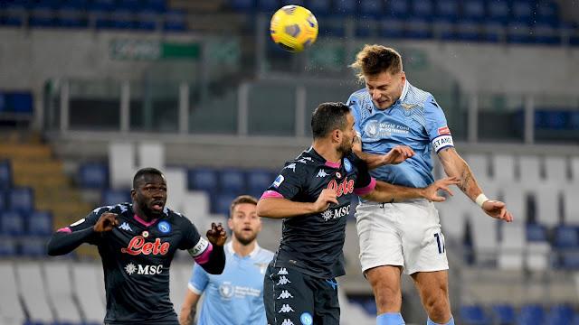 ملخص مباراة لاتسيو ونابولي (2-0) اليوم في الدوري الايطالي