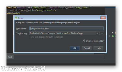 Android Studio - Notificaciones Firebase