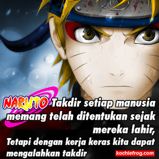 Gambar dp bbm Kata Kata Bijak Naruto
