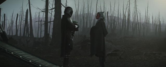 The Mandalorian Baby Yoda and Ahsoka Tano Chapter 13