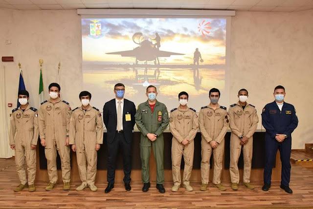 IFTS Sardinia Qatari pilots Italy