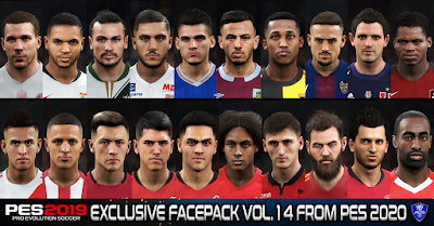 PES 2019 Exclusive Facepack Vol. 14 by Sofyan Andri