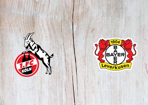 Köln vs Bayer Leverkusen -Highlights 16 December 2020