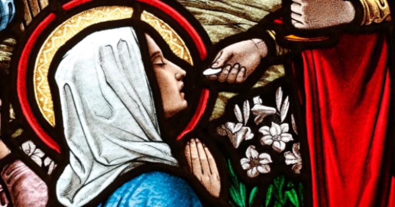 Doa kepada Perawan Maria sebelum menerima Komuni Kudus