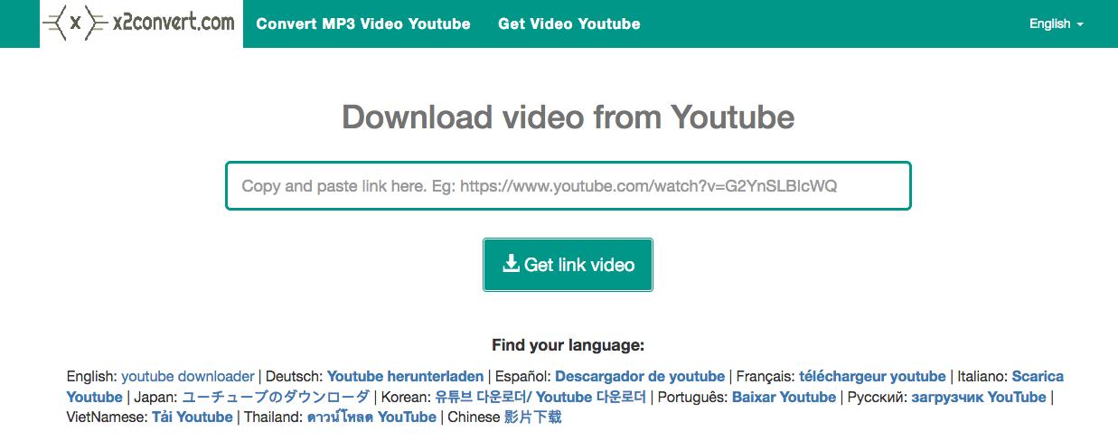 X2Convert YouTube Downloader