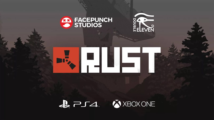 rust ps4 xbox one announced double eleven facepunch studio survival game