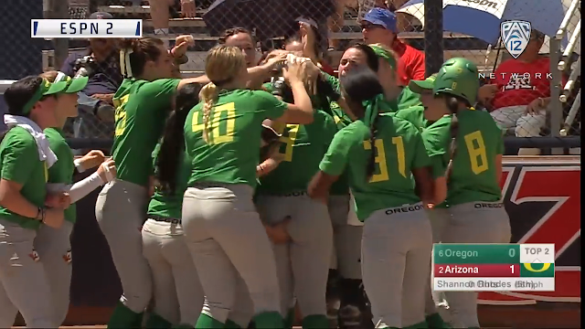 shannon rhodes ducks softball butt