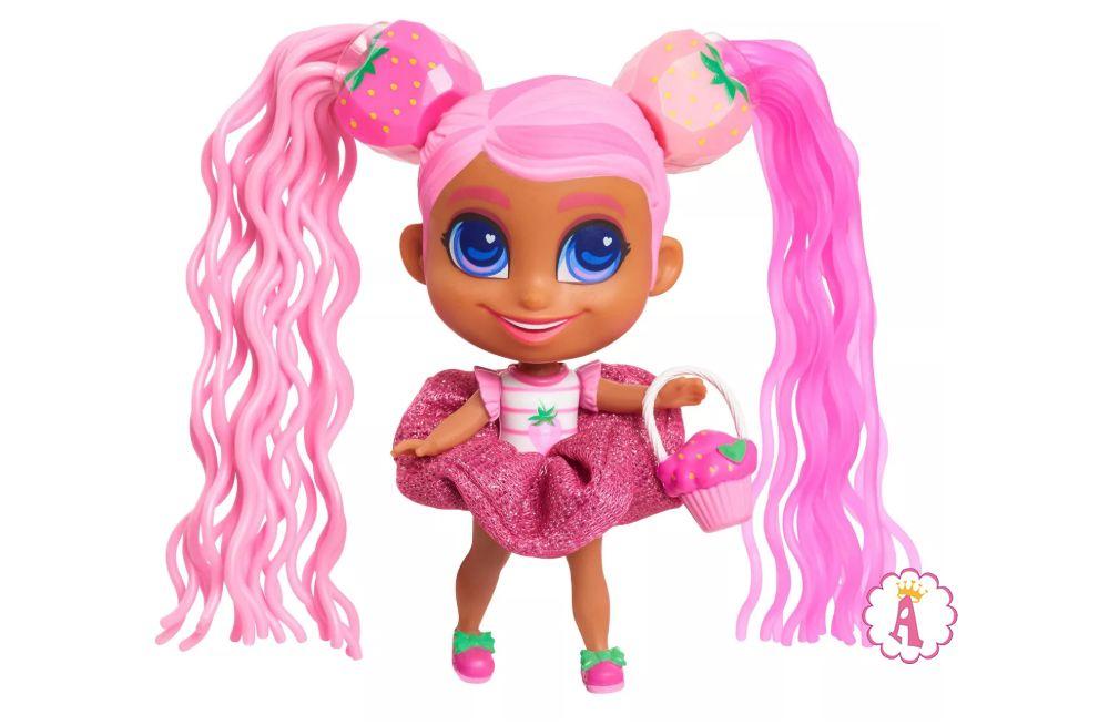 Кукла клубничка CeeCee Hairdorables Shortcuts Jelly Hair series 2