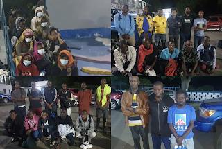 Anjouan : Interpellation de plusieurs migrants congolais, burundais et mozambicains