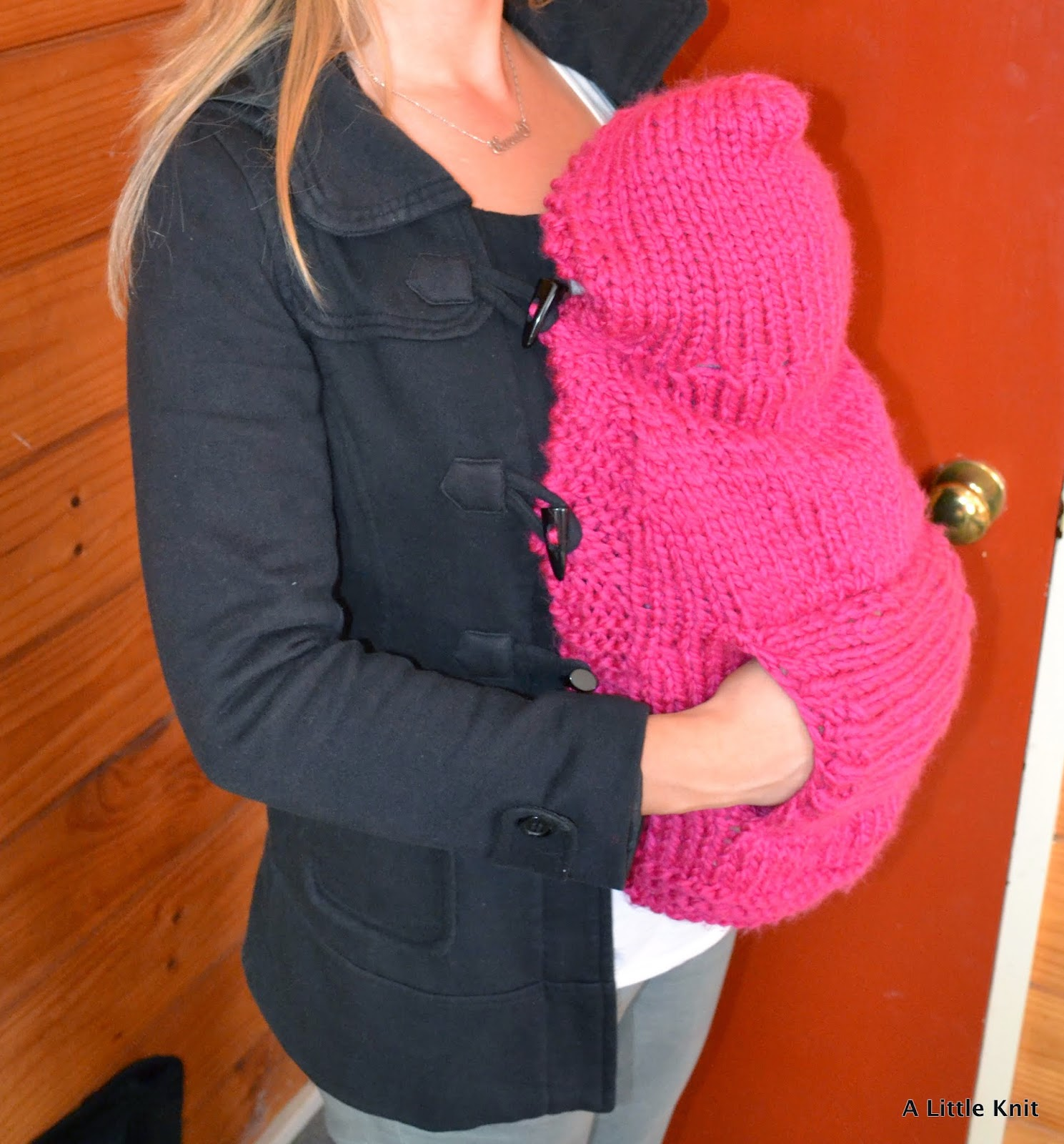 Coat Extender For Baby Carrier A Little Knit