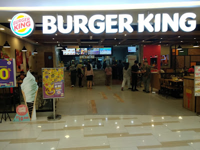 Burger King, Makanan,Review, mall