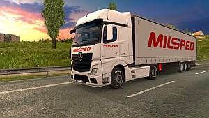 Milsped pack for Mercedes MP4
