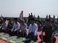 Warga Karangawen Kabupaten Demak Menggelar Shalat Istisqa dan Istighasah